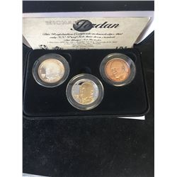 HIGHLAND MINT MICHAEL JORDAN PROOF SET! 2oz SILVER