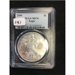 2009 USA EAGLE! PCGS MS-70!