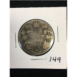 1909 CANADA 50 CENTS !