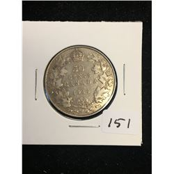 1912 CANADA 50 CENTS! KEY DATE!