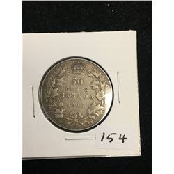 1916 CANADA 50 CENTS!