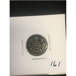 1904 CANADA 10 CENTS!
