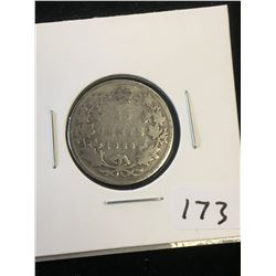 1888 CANADA 25 CENTS..