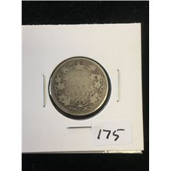 1894 CANADA 25 CENTS!