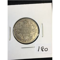 1910 CANADA 25 CENTS!