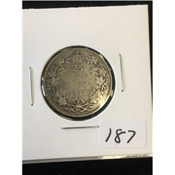 1927 (KEY DATE) CANADA 25 CENTS!