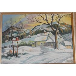 T. Foster Winter Scene