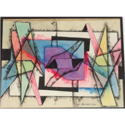 Czumpf Imre (1898 – 1973) Abstract