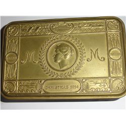 1914 BRASS BOX PRINCESS MARY