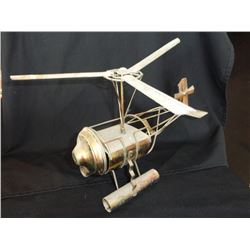Music box in Brass Helicopter