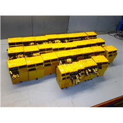 PINOZ MISC LOT OF 37 SAFETY RELAYS - SEE PICS!!