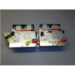 SIEMENS LOT OF 2 6EP1935-6MD11 SITOP BATTERY MODULE