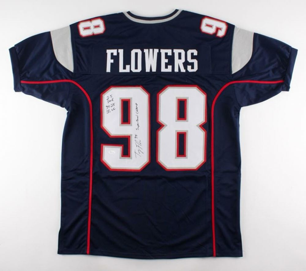 trey flowers patriots jersey
