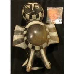 Owl Effigy similar to Caddoan Mississippian Culture pottery, but believed to be only ablout 50 years