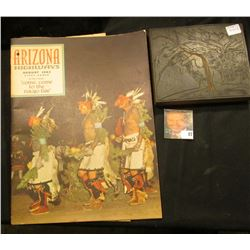 """""""August 1962 Arizona Highways"""" Magazine with Indian related cover and article which states """"come to"""