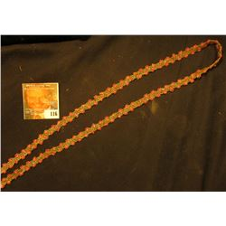 Trade Bead Necklace made for Indians, probably not over fifty years old.