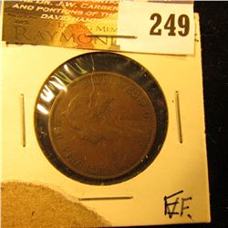 New Brunswick 1861 1 Cent. EF.