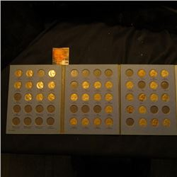 1938-55 Partial Set of Jefferson Nickels in a blue Whitman folder. A few higher grade pieces include