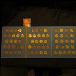 1939-61 Partial Set of Jefferson Nickels in a blue Whitman folder.