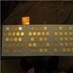 1938-61 Partial Set of Jefferson Nickels in a blue Whitman folder. Includes a couple of Silver War N