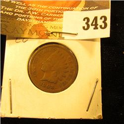 1908 Indian Head Cent VG.