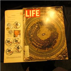 April 11, 1969  LIFE  Magazine (story Dwight David Eisenhower lies in state in the Capitol Rotunda);