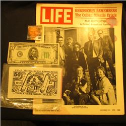 "December 18, 1970 ""LIFE"" Magazine (article Khrushchev Remembers the Cuban Missile Crisis); Series 19"