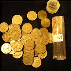 (42) Various U.S. Nickels, which includes Silver World War II Nickels and a Buffalo Nickel.