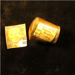 Civil War Medical Copper receptacle for Blood-letting. 'Doc' labeled it as Rare.