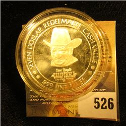 One Ounce Silver Round Sam Boyd's Las Vegas Casino,, This Token Was Redeemable At The Time For Seven