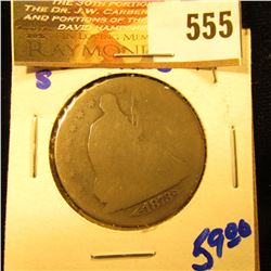 1873-S Seated Half Dollar With Arrows