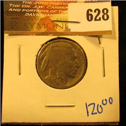 1918-S Buffalo Nickel With Full, Bold Date And Horn Visible