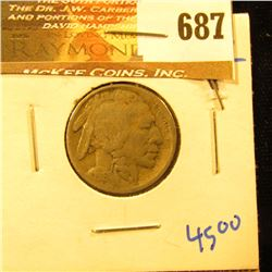 1916-S Buffalo Nickel With Full, Bold Date