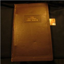 Used with loose binding  The National Coin Album  contains Wayte Raymond pages for U.S. Half Cents 1