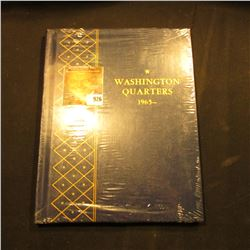 Original Mint condition  Washington Quarters 1965-  Whitman album.
