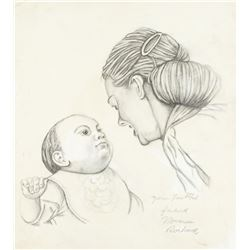 Norman Rockwell 1894-1978 American Pencil/Paper