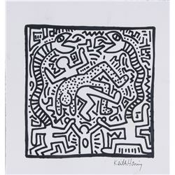 Keith Haring 1958-1990 American Ink on Paper