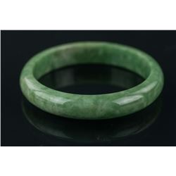 Burma Green Jadeite Bangle