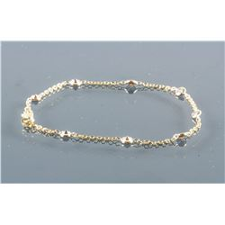 10K Gold 1.0ct Diamond Bracelet RV $2200