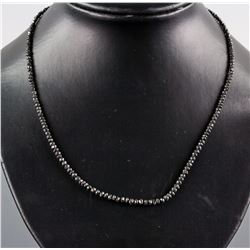 27.0ct Black Diamond Necklace CRV$3300