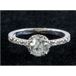 14k Gold 0.5ct & 0.28ct Diamond Ring CRV $8422