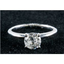 14k Gold 1.04ct Diamond Ring CRV $13150