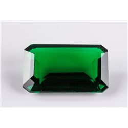 AAA Nanocrystal Lab Emerald Octagon 30 x 20 mm