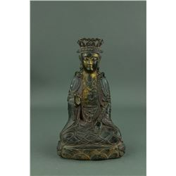 5-6th Century Chinese Fine Bronze Buddha Figure