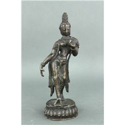 18th/19th Century Burma or India Bronze Figure