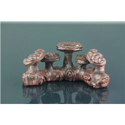 Chinese Fine Bamboo Carved Brush Rest