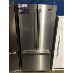 MAYTAG STAINLESS STEEL 3 DOOR REFRIGERATOR