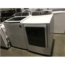 SAMSUNG WHITE WASHER & DRYER SET