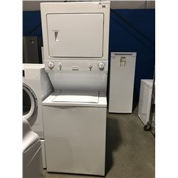 WHITE STACKER WASHER & DRYER SET