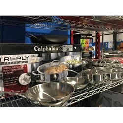 17 PCS CALPHALON COOKWARE SET